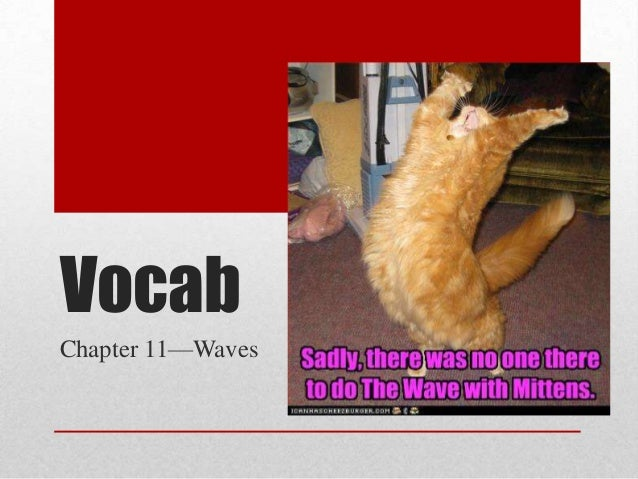 Vocab Chapter 11—Waves