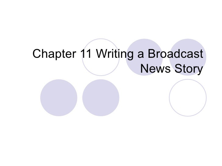 Essay on Television Broadcast News