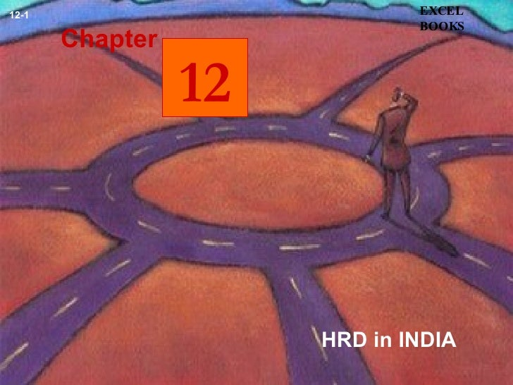 HRD in INDIA Chapter EXCEL BOOKS 12-1 12