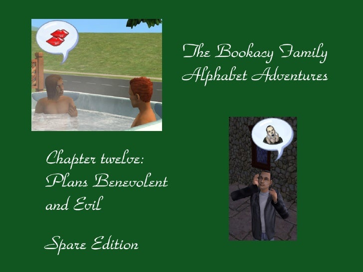 Dear reader, welcome to The Bookacy Family Alphabet Adventures, chapter 12! This time, we are going to do an Official Spar...