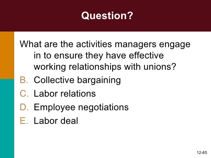 the labor relations act 66 of Consultation in terms of section 189(2) labour relations act 6 january 2010 labour relations act 66 of 1995 (hereinafter referred to as lra.