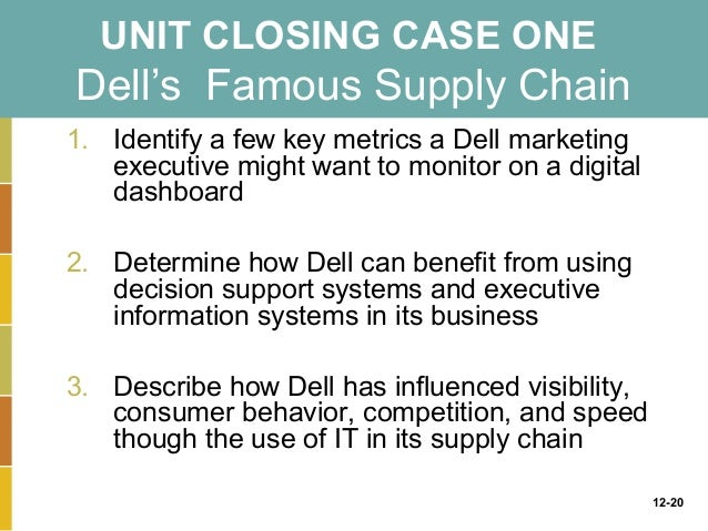 business driven information systems chapter 12 closing case one Video case 1: freshdirect uses business intelligence to manage its online grocery video case 2: business intelligence helps the cincinnati zoo  chapter 12: enhancing decision making.
