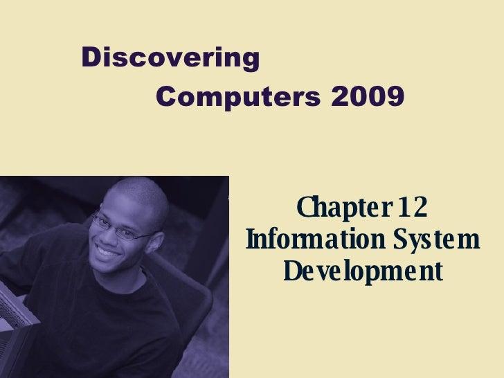 Chapter 12 Information System Development
