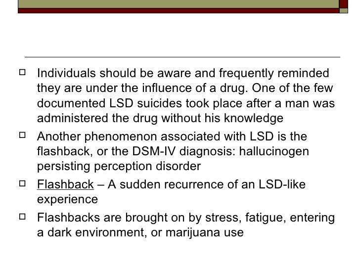 Chapter 12 Hallucinogens