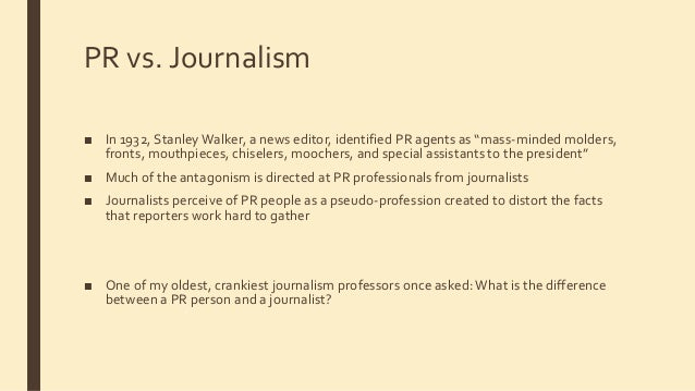 The growing pay gap between journalism and public relations