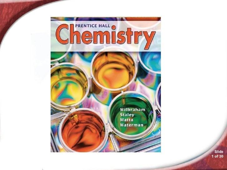 Chemistry 12.1