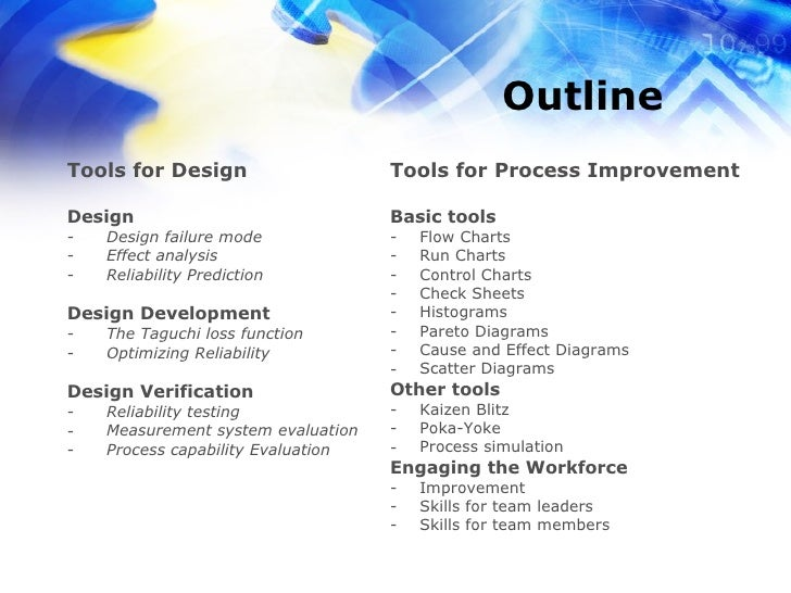 six sigma overview Six sigma is defined as a method that provides tools to improve business process capabilities learn how to integrate lean and six sigma at asqorg.