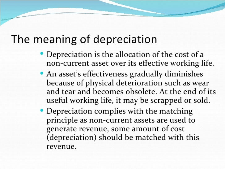 chapter 12  u0026 14 depreciation of non current assets clc