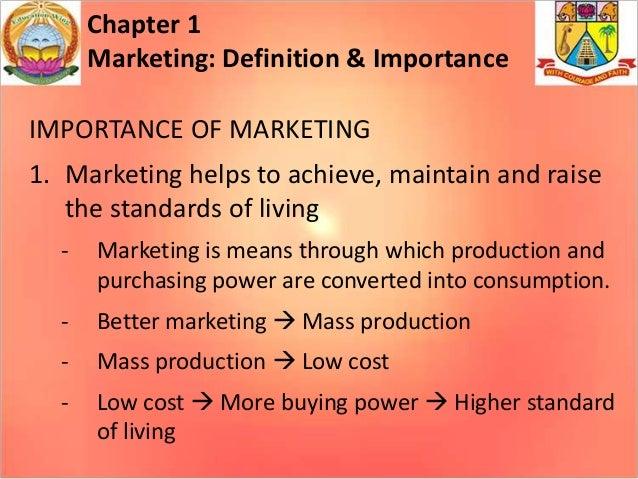 Marketing - Definition & Importance, Concepts & Marketing Management Tasks Slide 3