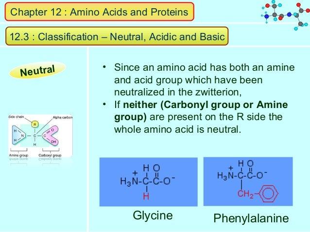 AMINO ACIDS. Naturally-occurring amino acids have L-configuration ...