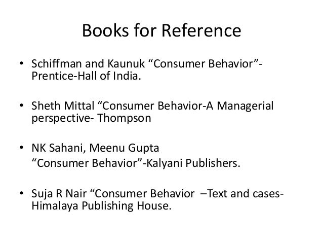 an introduction to consumer behaviour This introduction was originally published in the behavioral economics guide 2014 to learn more about the subject,  journal of consumer behaviour, 8, 284-299.