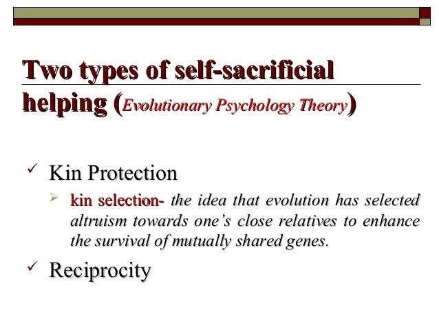  Kin ProtectionKin Protection  kin selection-kin selection- the idea that evolution has selectedthe idea that evolution ...