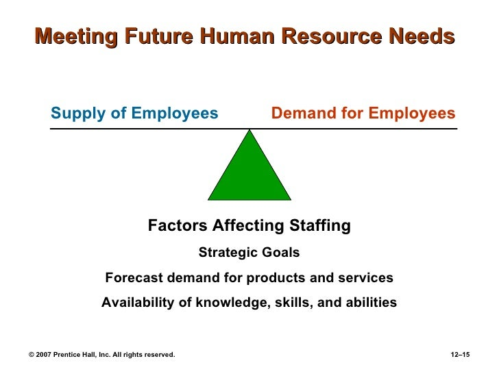 hrm notes of the human resource