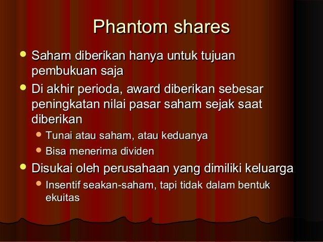 Opsi saham versus saham phantom