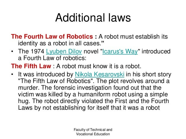 Chapter 12 Law And Class Robot