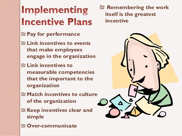 incentives plans paper Read this essay on incentive plans paper come browse our large digital warehouse of free sample essays get the knowledge you need in order to pass your classes and more.