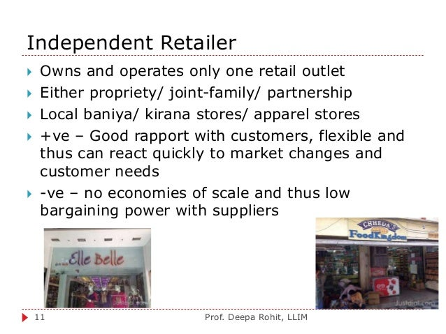 other chain of convenience stores and independent stores marketing essay Marketing problems these studies are gaining the principles and techniques discussed here are also applicable to other types of retail stores the why of customer behavior is a separate and very difficult whether a customer shops alone studying customer behavior in retail stores.