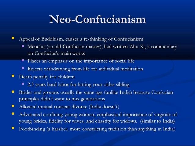 CONFUCIAN BELIEFS