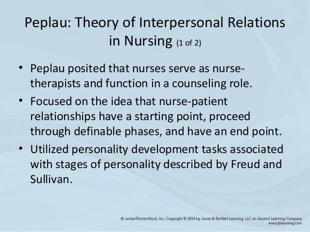 peplau theory research relationship