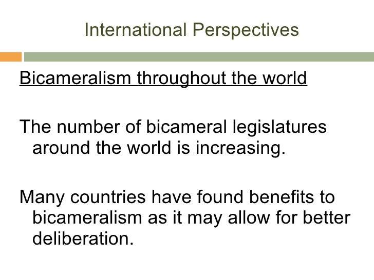 advantages of bicameralism
