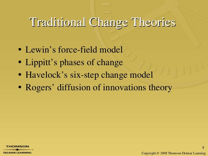 nurse to patient ratio implementing lewins change theory Thumbs up for using change theories it was evident in the article that the hospital piloting and implementing the change had i plan to use lewin's change.