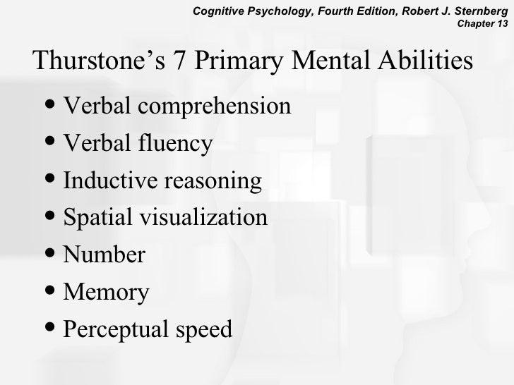 thurstone mental abilities