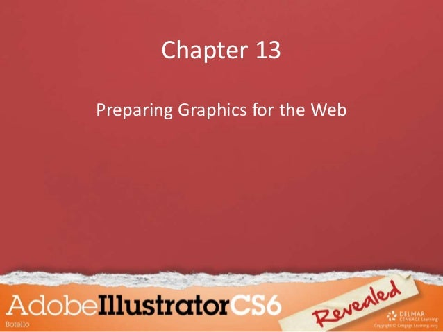 Chapter 13 Preparing Graphics for the Web