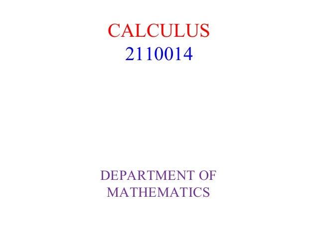 DOUBLE INTEGRALS PPT GTU CALCULUS (2110014)
