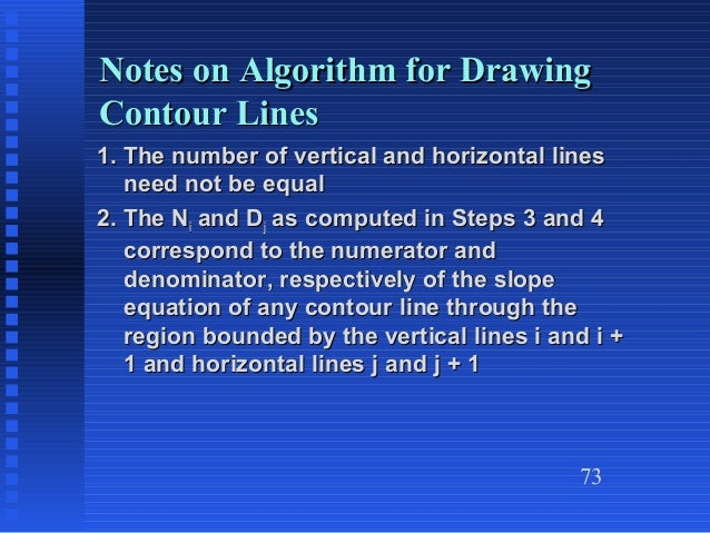 Vertical Line Drawing Algorithm : Chapter heragu