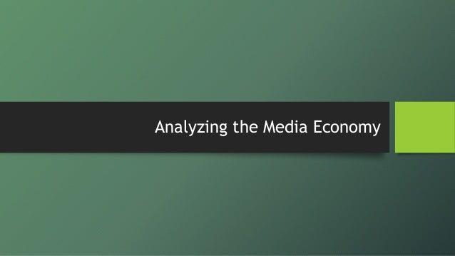 Media Economics & Global Marketplace