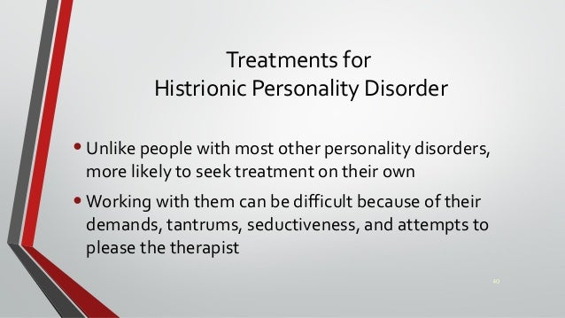 Dating someone with histrionic personality disorder