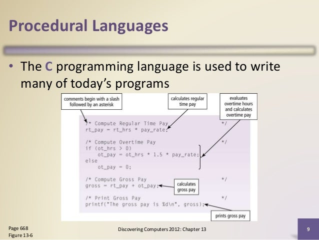 Chapter 13 programming languages and program development ccuart Gallery