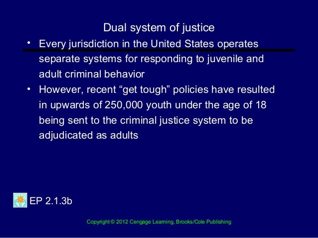 The Structure of Criminal Justice