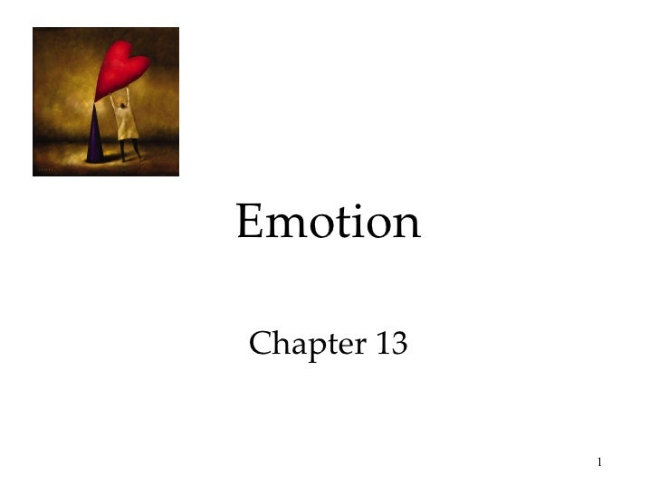Emotion Chapter 13