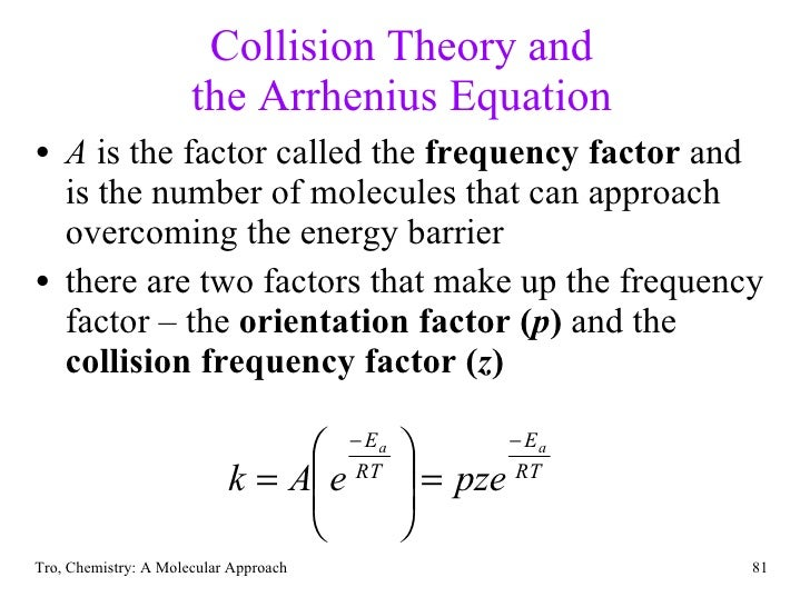 rate and collison theory Collision theory provides a qualitative explanation of chemical reactions and the rates at which they occur a basic principal of collision theory is that, in order to react, molecules must collide this fundamental rule guides any analysis of an ordinary reaction mechanism.