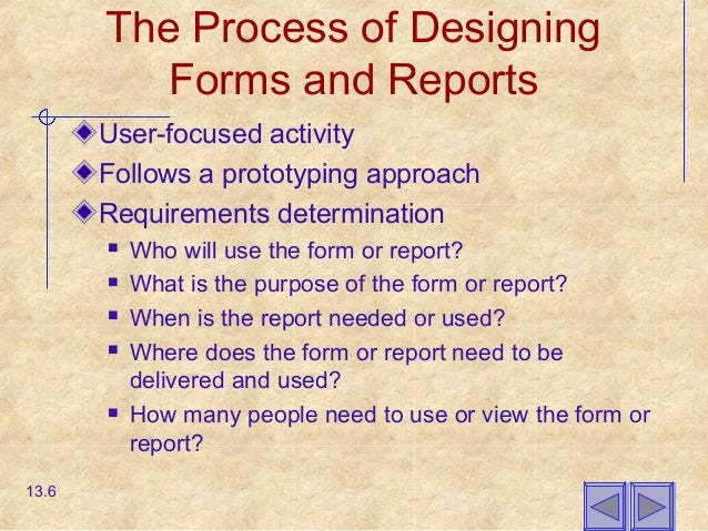 Chapter13 designing forms and reports