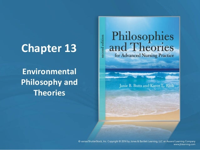 Chapter 13 Environmental Philosophy and Theories