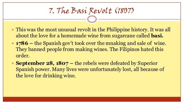 the philippine revolution against spain essay Anti essays offers essay examples to help students with their essay writing  considered the father of the philippine revolution against spain,.