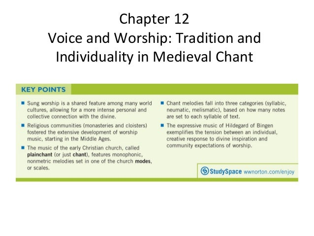 Chapter 13 Voice and Worship: Tradition and Individuality in