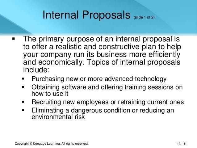 internal proposal April 16, 2014   instructor resources, student samples student samples:  informal proposals by semckone joan mccool sample #1 proposal sample # 2.