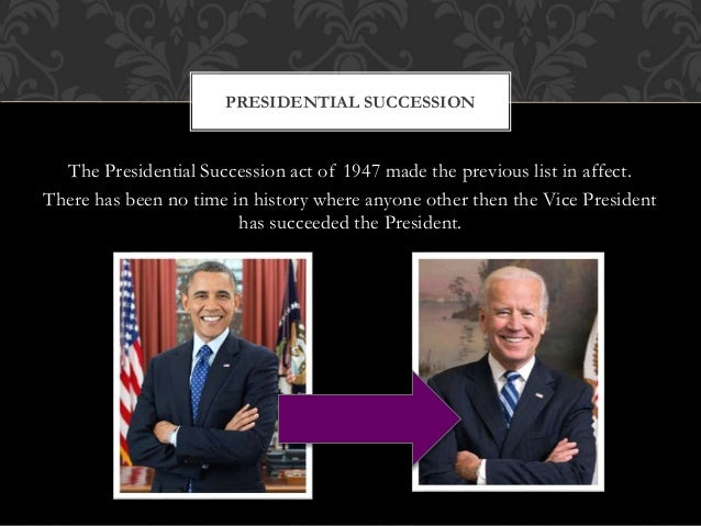 • The vice presidency has been vacant 18 times thus far: nine times by succession to the presidency twice by resignation, ...