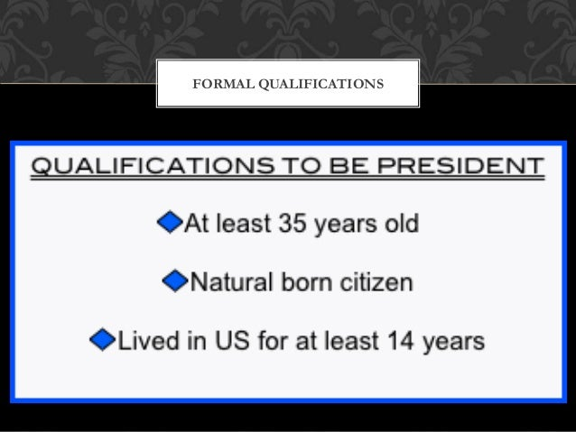 Would you make a good President?