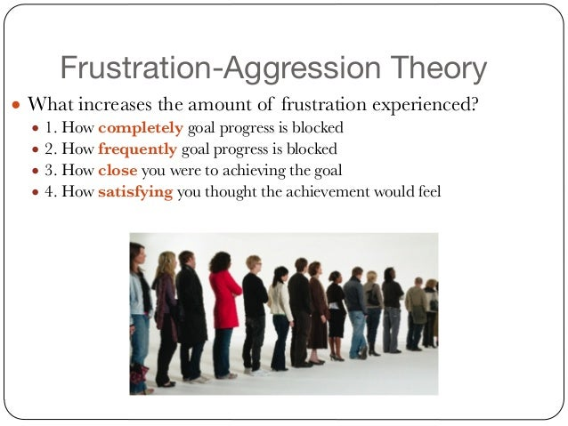 frustration aggression theory Frustration aggression - download assumptions involved in their behavior theory approachfrustration-aggression reformulation competitive situations.