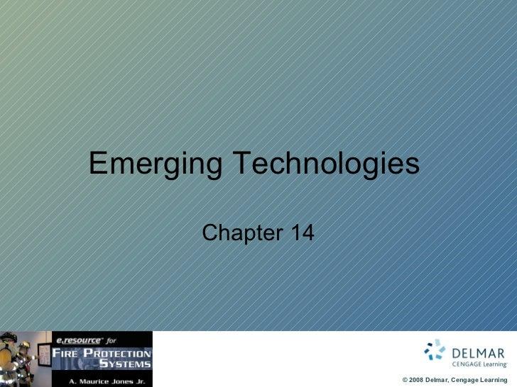 Emerging Technologies  Chapter 14