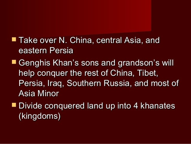 chapter 14 mongols Chapter 14 introduction: chapter 14 introduction the last great nomadic challenge: from chinggis khan to timur the mongols were the most formidable nomadic challenge.