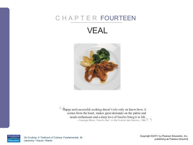"""C H A P T E R FOURTEEN                                                      VEAL                              """"  Happy and..."""
