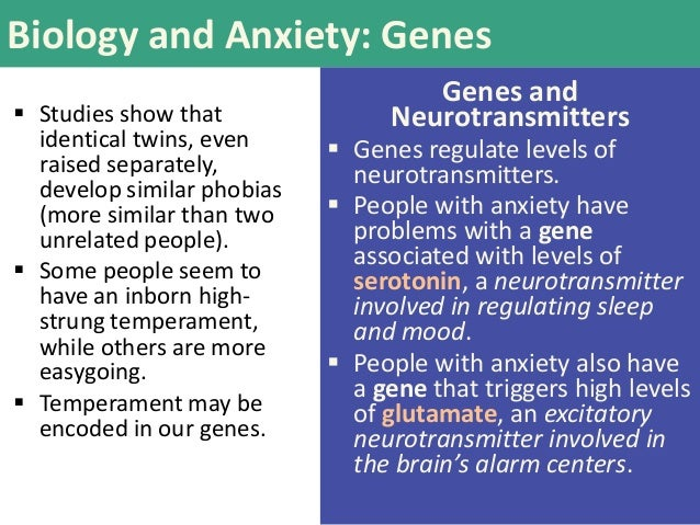 The Biology Of Anxious Temperament May >> Psy 150 403 Chapter 14 Slides