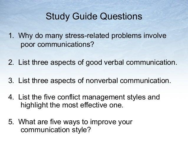 List poor communication skills, leaders in training la mirada