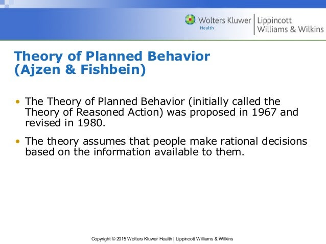 ajzen and fishbein 1980 theory of reasoned action pdf