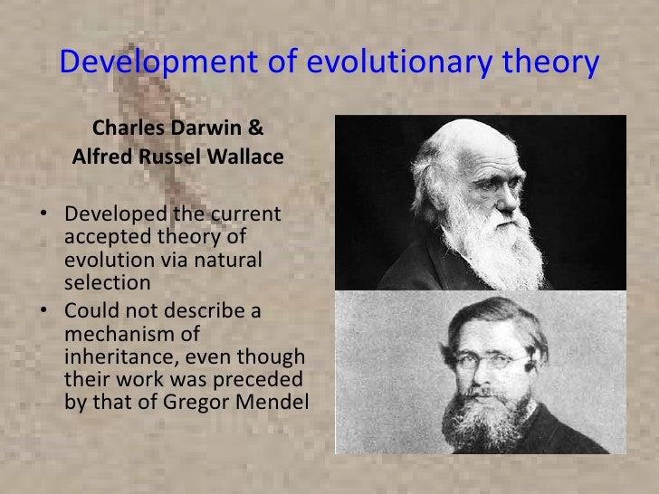Evolutionary theory dating